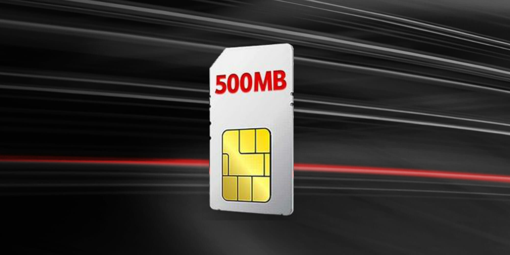 500MB Business SIM Only