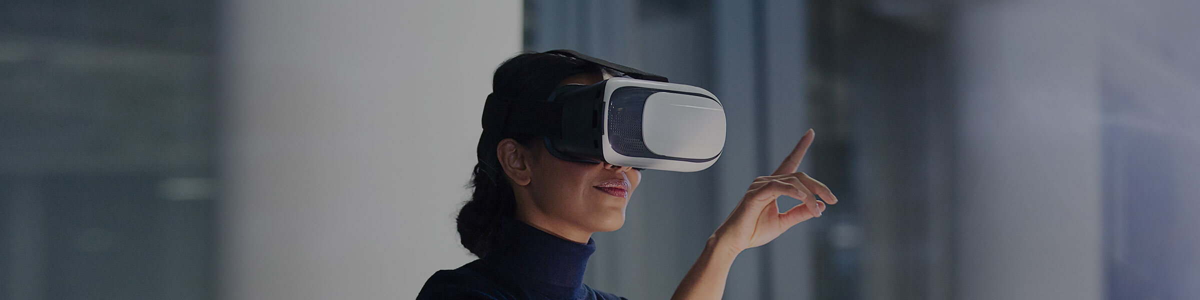 Businesswoman VR