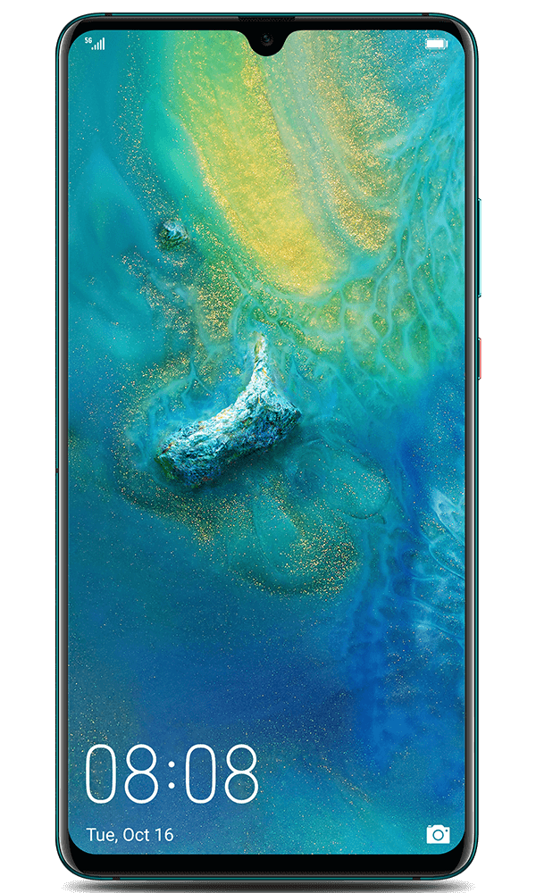 Huawei Mate 20 X (5G) in green