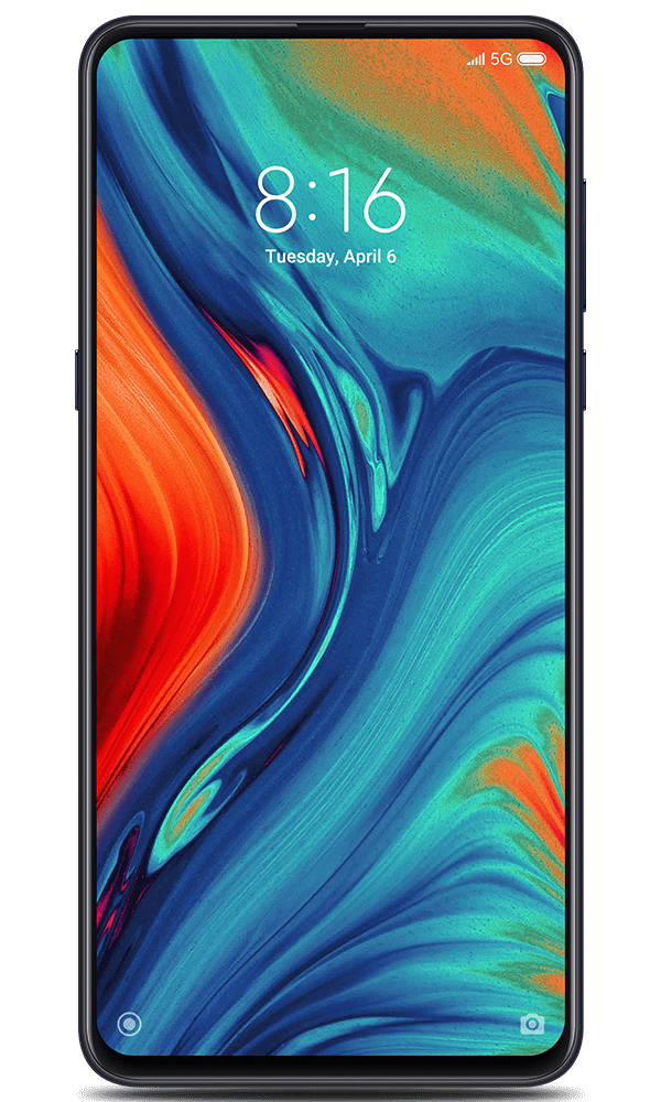 Xiaomi Mi MIX 3 5G in black