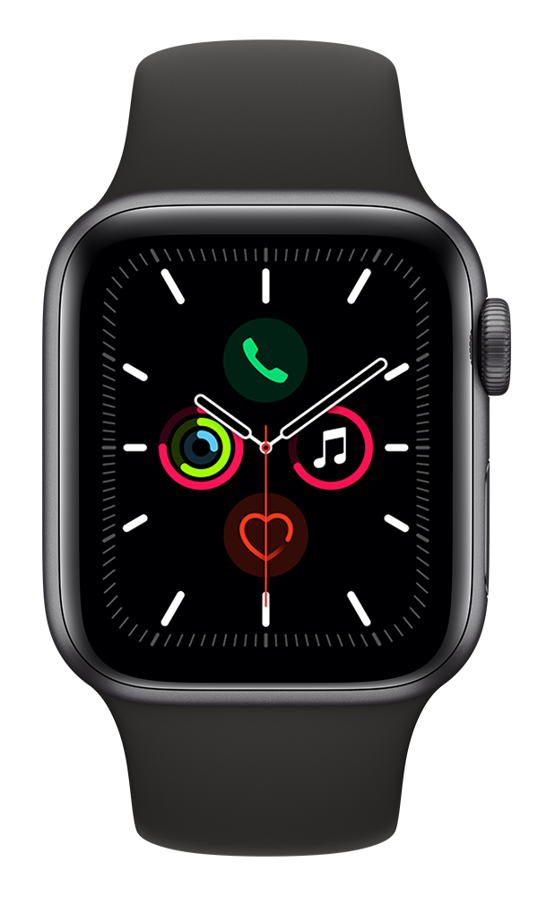 Apple Watch Series 5 (44mm) in Black