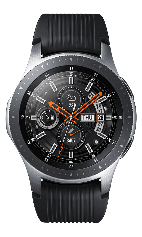 Samsung Galaxy Watch 46mm in silver