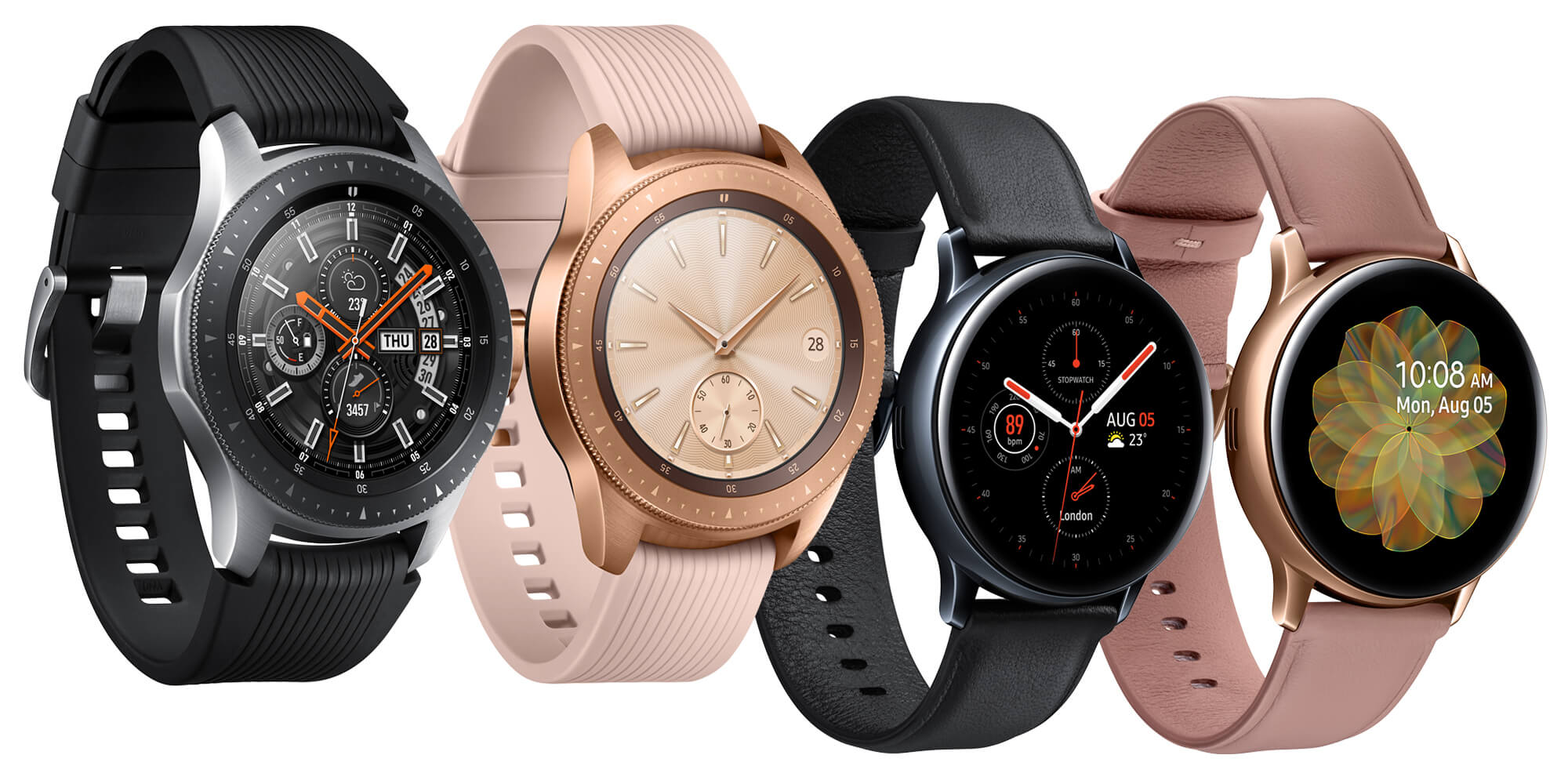 Selection of Galaxy Watches
