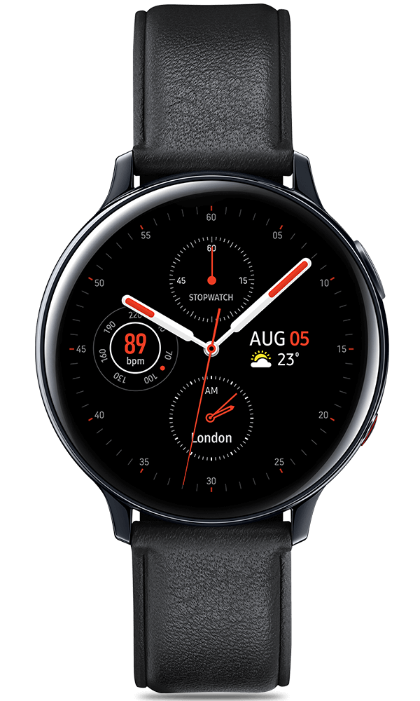 Samsung Galaxy Watch Active2 in black