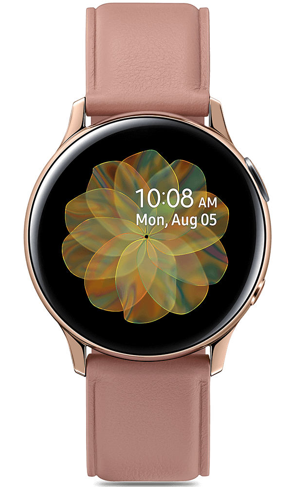 Samsung Galaxy Watch Active2 in gold