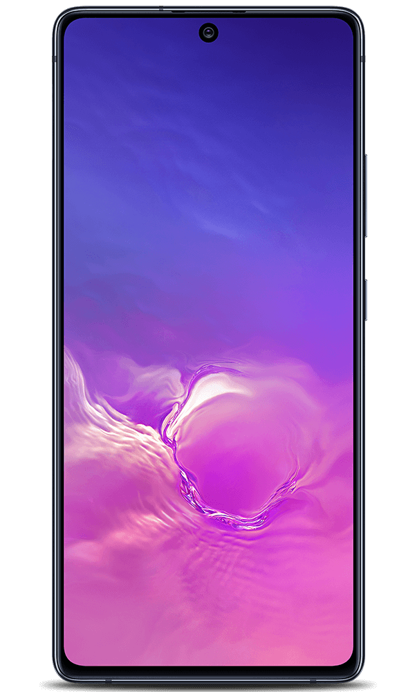 Samsung Galaxy S10 Lite in black