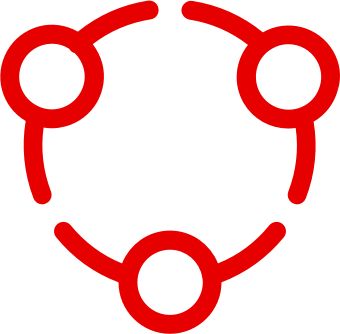 Circular connection icon