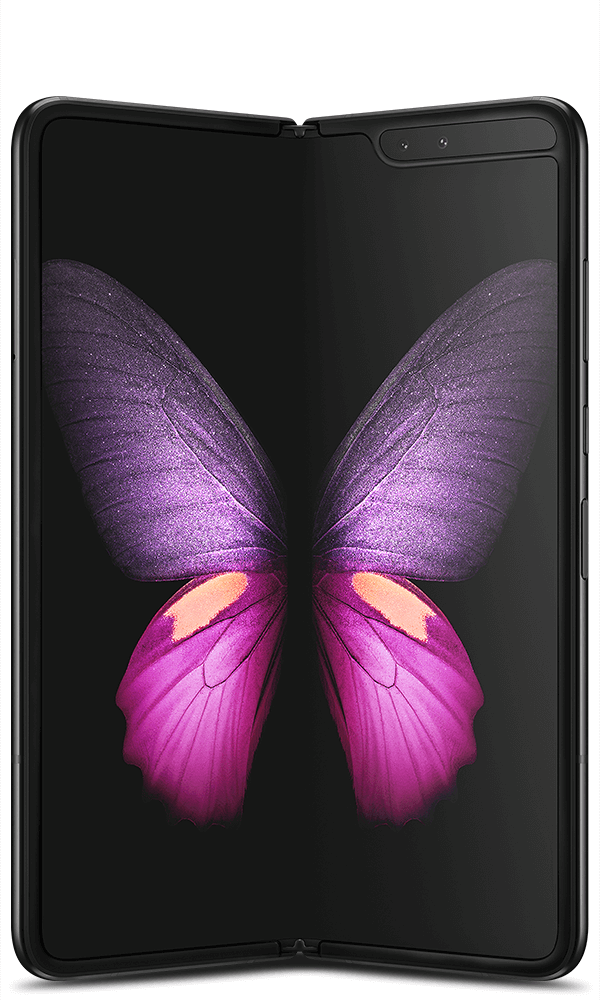 Samsung Galaxy Fold 5G in black