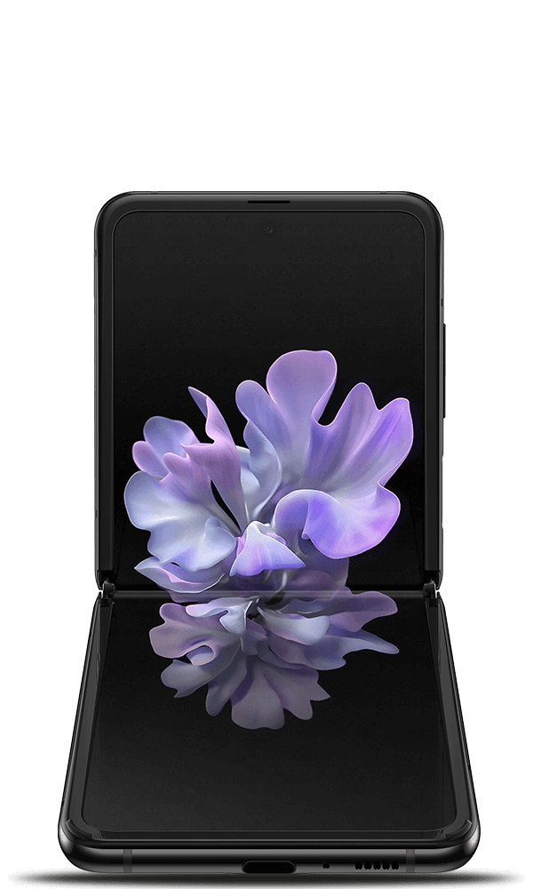 Samsung Galaxy Z Flip in black