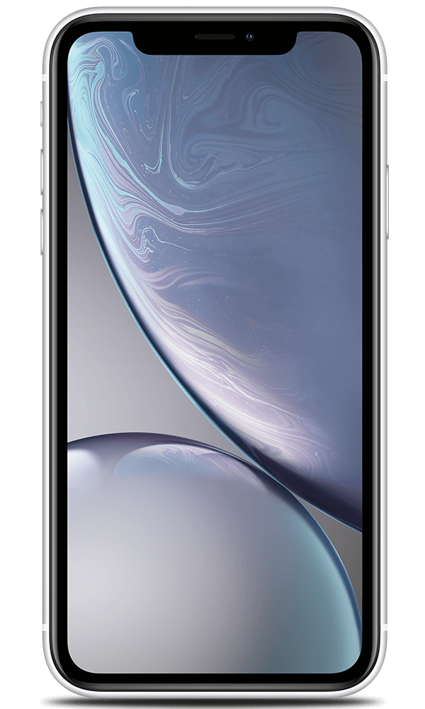 Apple iPhone XR in white