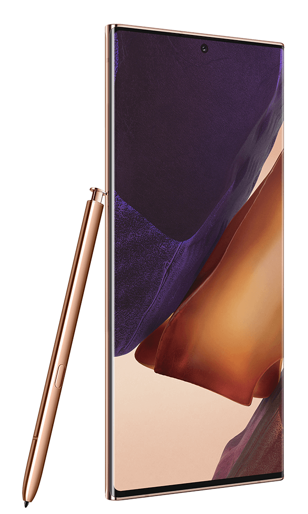 Samsung Galaxy Note20 Ultra 5G in Mystic Bronze