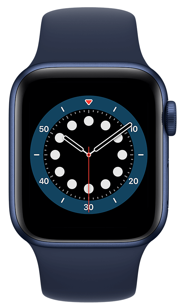 Apple Watch Series 6 (40mm) in Blue Aluminum