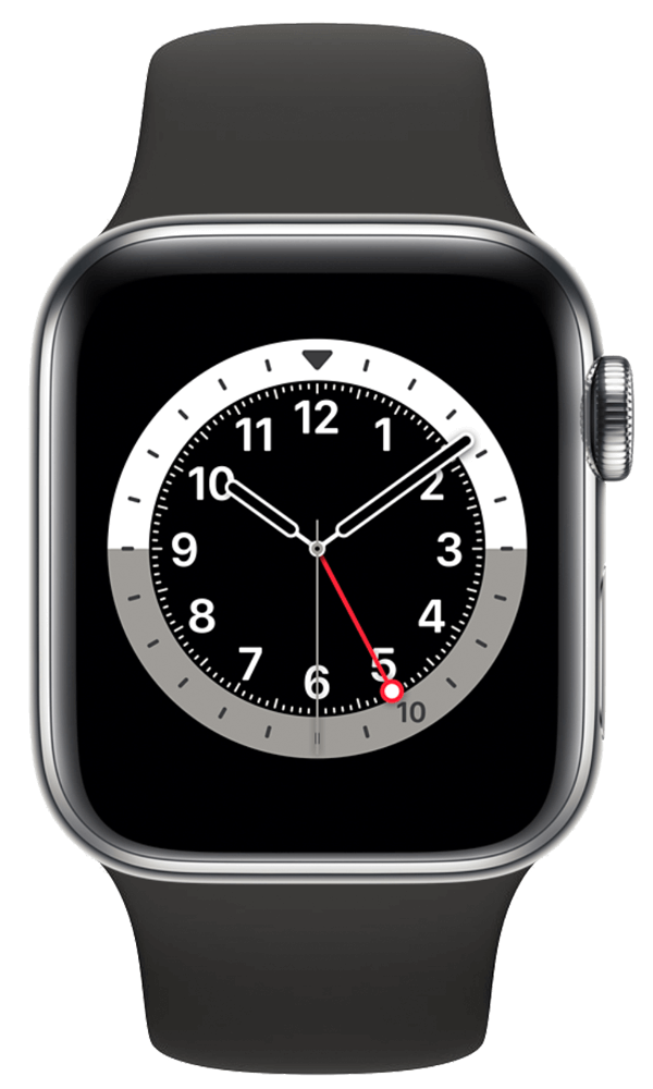 Apple Watch Series 6 (44mm) in Stainless Steel