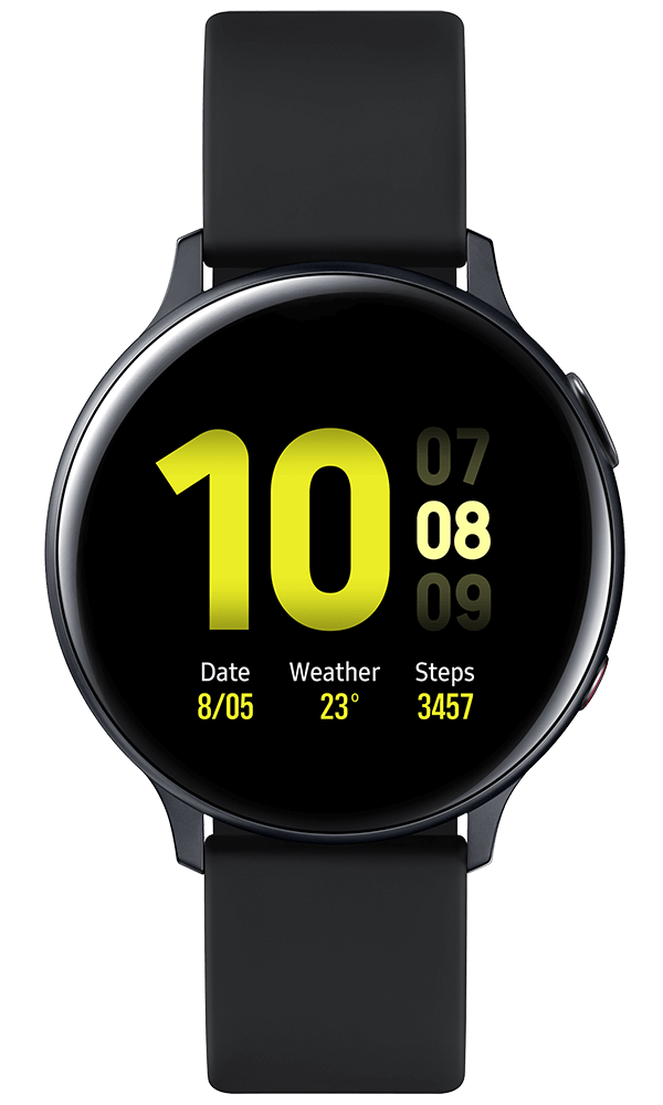 Samsung Galaxy Watch Active2 Aluminium in black