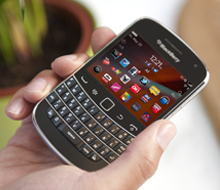 Making our products accessible - BlackBerry phone