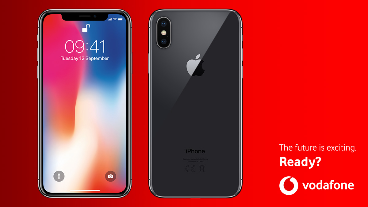 iphone x deals and contracts from vodafone. Black Bedroom Furniture Sets. Home Design Ideas