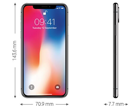 Iphone x 64gb vodafone