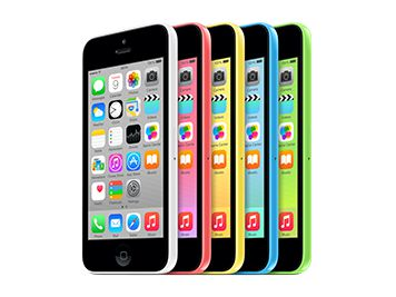 Multicoloured iPhone 5c