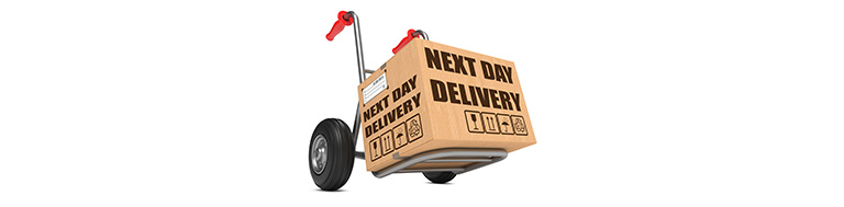 Order before 10pm for free next day delivery