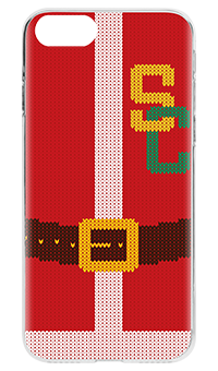 Flavr Ugly Xmas Sweater College Santa iPhone 7 Case