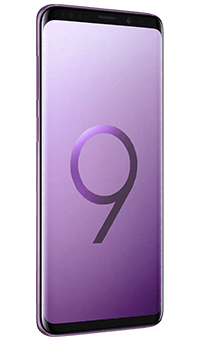 samsung galaxy s9 in lilac purple deals and contracts. Black Bedroom Furniture Sets. Home Design Ideas