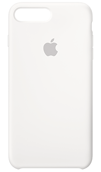 a6213857510 iPhone 8 Plus 7 Plus Silicone Case (White) at Vodafone