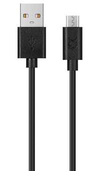 XQISIT Charge & Sync Micro USB to USB Cable