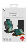 XQISIT Premium Bundle Pack for iPhone XS