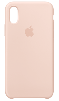 info for ea0f1 eb99e Silicone Case for iPhone XS (Pink Sand) from Vodafone