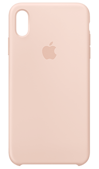the best attitude 7640b 24176 Silicone Case for iPhone XS Max (Pink Sand) from Vodafone