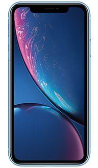 Apple iPhone XR Blue - Front