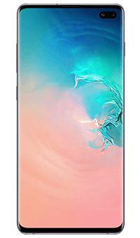 Samsung Galaxy S10plus Prism White