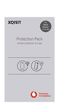 XQISIT Protection Pack for iPhone 11 Pro Max