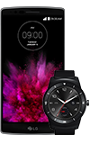 LG G Flex 2 and G Watch R