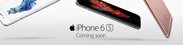 iPhone 6s Mobile Banner