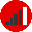 Network signal strength icon
