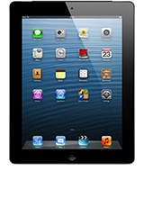 iPad with retina display black model