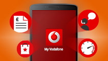 Take control with Vodafone apps for iPhone, Android and Blackberry