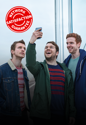 network satisfaction guarantee - Severn bridge selfie