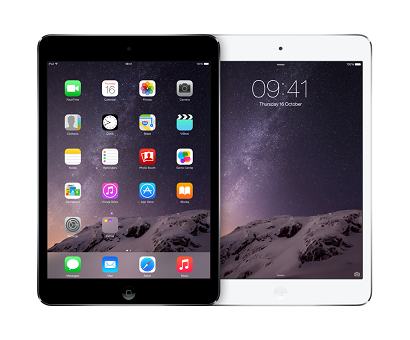 ipad mini retina side by side