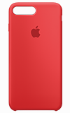 Apple iPhone 7 Plus Silicone Case (red)