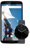 Nexus 6 and Moto 360