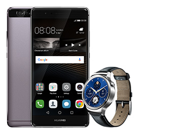 W1 Classic smartwatch included