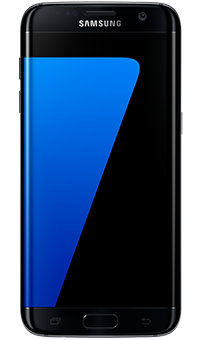 front view of a samsung galaxy s7 edge