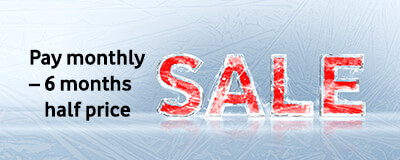 Sale in ice