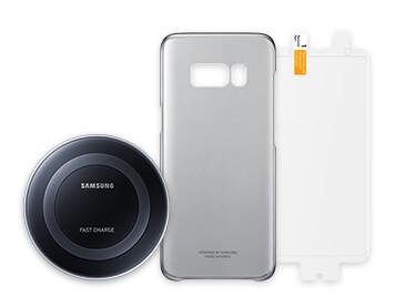 Samsung Galaxy S8+ accessory bundle