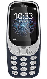 Nokia 3310 dark blue PAYG