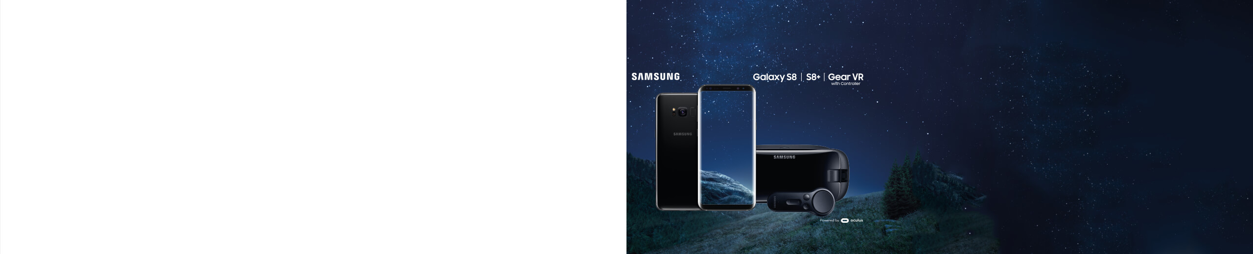 Samsung Galaxy S8 Gear Vr Offer Banner Vodafone Uk