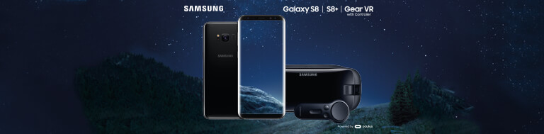 Samsung Galaxy S8 Gear VR offer banner