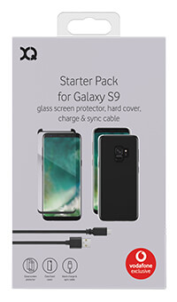 XQISIT Accessory Pack for Samsung Galaxy S9